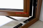 挤压生产铝木复合门窗型材