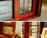 生产环保节能铝木复合门窗