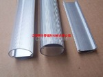 氧化噴砂加工燈飾鋁型材