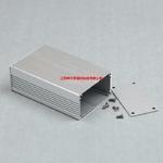 熱銷噴砂亮銀鋁外殼型材