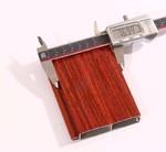 铝合金木纹系列卷帘门型材