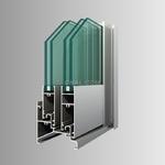 铝合金中空幕墙型材