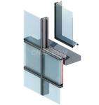 供应明框幕墙门窗建筑铝型材