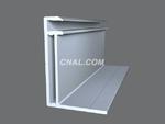 供應鋁合金工業型材太陽能邊框支架