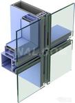 生产铝合金明隐幕墙门窗建筑型材