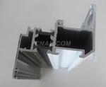 供應鋁合金斷橋隔熱門窗建築鋁型材