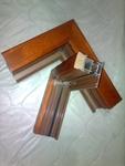 供应铝合铝木复合门窗建筑型材
