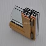 供應鋁合金斷橋隔熱平開窗建築型材