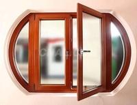 供應鋁合金鋁木復合門窗建築鋁型材