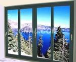 LN875铝合金型材民用门窗型材