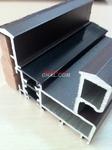 80系列铝木复合隔热断桥门窗型材