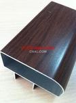 供应各种手感木纹铝方通通用型材