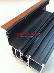 鋁木復合型材隔熱|斷橋門窗鋁型材