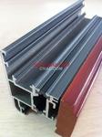 LM72鋁木復合隔熱斷橋門窗鋁型材
