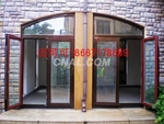 鋁木復合門窗建築型材高端別墅首選