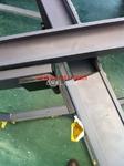 供应中悬窗/立转窗门窗建筑铝型材
