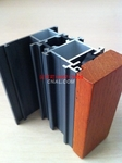 LM68鋁木復合型材/隔熱斷橋型材