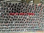 三角鋁材大尺寸百葉扣板防水立柱
