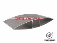 水滴型鋁百葉型材 建築鋁型材
