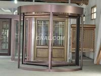白銀賓館旋轉門——想要購買高性價鋁型材旋轉門找哪家