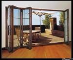 制作安裝鋁合金折疊門廠家