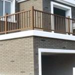 工程铝扶手铝护栏铝栏杆