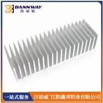 江苏梳子散热器铝合金挤压生产