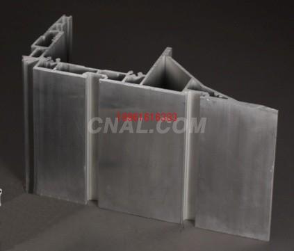 大型铝挤压设备生产各类机械铝型材