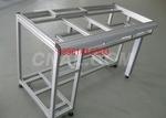 大型挤压机生产太阳能铝边框支架