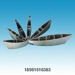 供應6063T5百葉遮陽板鋁型材
