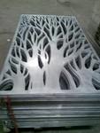 磨砂/拉絲機房石紋金屬雕花板圖片大全
