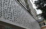雕花幕�椈T單板圖案 雕刻鋁板