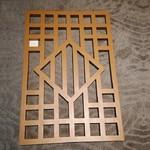 聚酯粉末手感木纹门面招片卑3.0~8.0mm铝窗花价钱