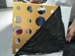 氟碳三涂光鋁6系鋁鎂硅合金幕墻沖孔板