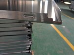 凹凸造型光鋁模具壓型啞光1係純鋁大方扣板門頭