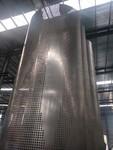 阳台天花板造型图片 造型铝单板