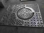 户外幕墙网状/冲孔收费站原色/本色6系铝镁硅合金钢板雕刻图案