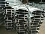 铝型材表面抛光,铝四方管