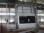 鋁屑熔化側井爐