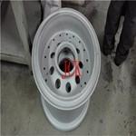 鋁合金輪轂翻新專用噴砂機