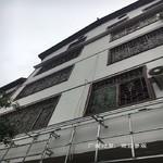 仿古木纹铝合金窗花/铝型材花格窗