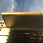 定制雨棚铝单板装饰-氟碳漆铝单板