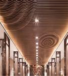 幕墙装弧形铝方通价格-弧形铝格栅