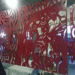 幕墙整体装饰图案镂空氟碳漆铝单板