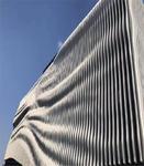 墙身装饰波浪形铝板隔断弧形铝方通