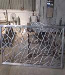冰裂纹铝窗花-冰裂纹铝合金花格窗