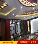 度假区仿木纹铝花格窗优惠价格
