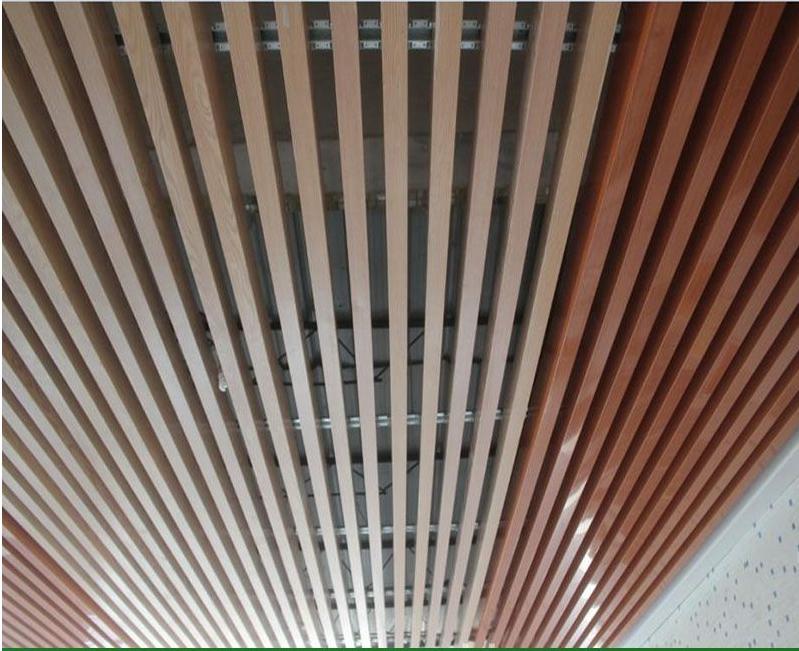 商业中心走道铝合金方管天花量身定制