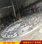 大學校區幕墻仿古鋁合金花格窗量身定制