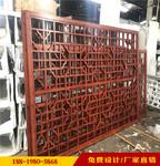 舊商場改造復古鋁花格窗定制供應商